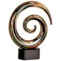 Swirl Art Glass